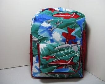 Jets Preschool Backpack