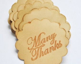 50 Coffee stained favor thank you gift tags . vintage inspired. primitive . rustic . wedding . card making supply. scrapbooking
