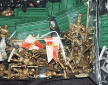 Lot Set Lionheart Risk Game Medieval Knights Soldiers Army Game Pieces