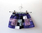 Wild African Kids Pocket Skirt Size One