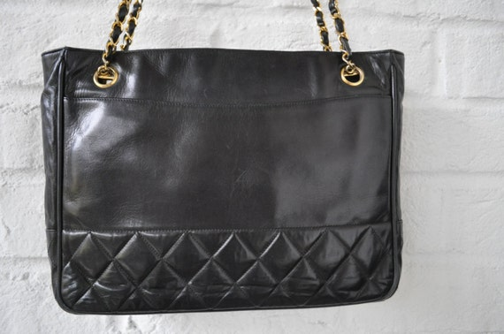 Quilted Chanel Tote Bag