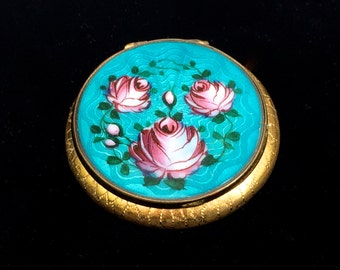 popular items for painted compact on etsy