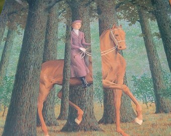 Rene Magritte  Puzzle The Blank Signature Detail