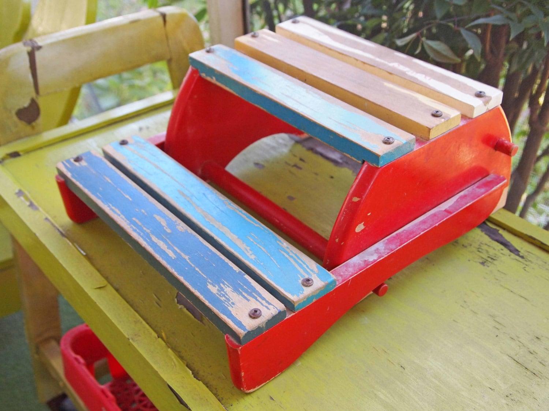 Step Stool Child S Chair Vintage Stool Wood Stool
