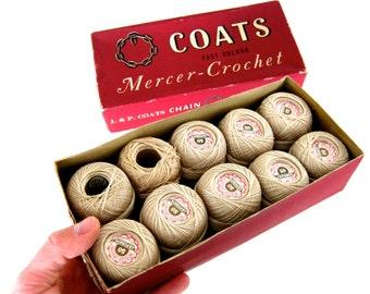 Vintage Coats Fast Colour Crochet Thread