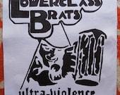 Sew On Lower Class Brats Ultra Violence Clockwork Back Patch