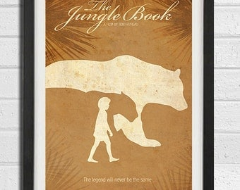The Jungle Book Vintage Art Poster Print