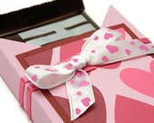 Novelty Valentine Gifts - Valentine Chocolate Bar Box - Homemade Candy Holder - Valentine Packaging - Candy Gift Ideas