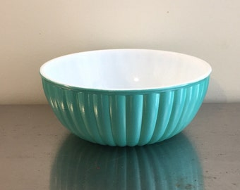 Hazel Atlas Milk Glass Bowl