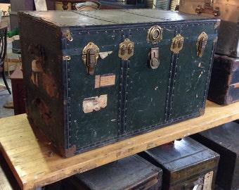 Large Green Vintage Locker