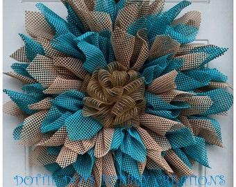 All Season Everyday Sunflower Wreath