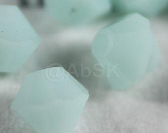 144 pieces Genuine Swarovski Element 5328 4mm Bicone Xilion Crystal Beads MINT ALABASTER