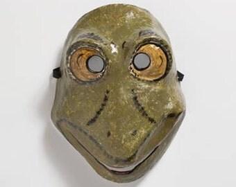 frog paper mask