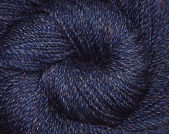 Handspun yarn - Merino wool / nylon yarn, Worsted weight - 375 yards - Rainbow Stars 1