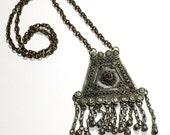 Kuchi Necklace, Vintage, Kuchi Jewelry, Tribal Jewelry, Gypsy Necklace, Bells, Boho Necklace