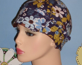 Chemo Hats SALE Handmade Cancer Cap (For Size Guide see 'Item Details' under Photos) SMALL/MEDIUM
