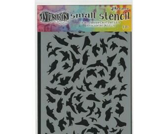 Dyan Reaveley Stencil BREEZE OF BIRDS Dylusions 5 x 8
