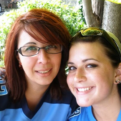 Angie and Brittany