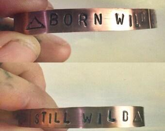 BORN WILD Stacker Copper Cuff Bracelet
