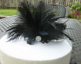 Wedding cake topper, customizable, cake decoration, gatsby wedding, feather cake topper, back cake topper