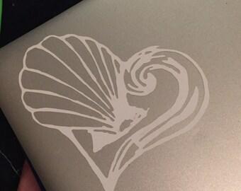 Ocean Dreams logo decal