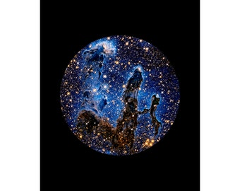 Pillars of Creation are located in the Eagle Nebula - Available Sizes (8x10) (11x14) (16x20)