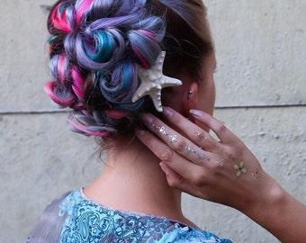 Real Starfish Hair Clip