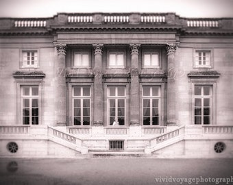Pink Photograph, Architecture Art, France Photograph, Petit Trianon Photo, Marie Antoinette, French Decor, Dreamy Photograph, Pink Decor