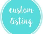 Custom Listing for suki20