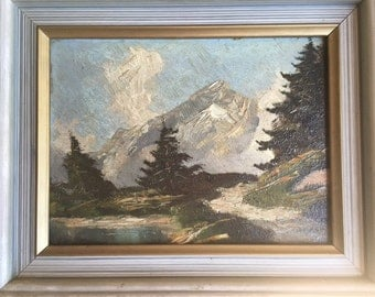 Small Mountain Oil Painting