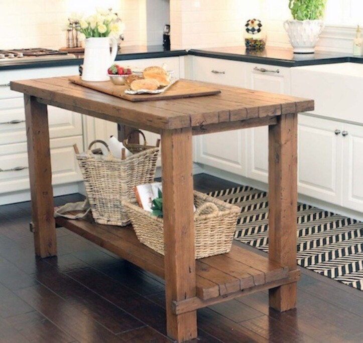 reclaimed solid wood kitchen island restoration hardware wildon home 174 kitchen island with solid wood top amp reviews