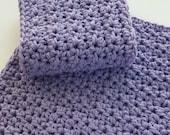 Crochet Dish Cloth Wash Cloth Washcloth Dishcloth Bathroom Spa Cloth Kitchen Dish Rag Orchid Set of 2 d