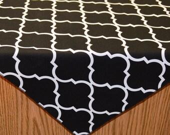 43 x 43 Quattro Grande Black Table Overlay
