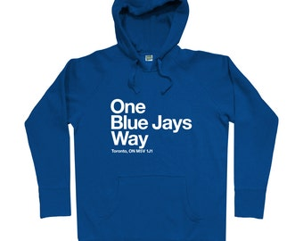 Toronto Baseball Stadium Hoodie - Men S M L XL 2x 3x - Toronto Canada Hoody, Sweatshirt, Ontario, Sports, Fan - 4 Colors