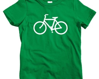 Kids Bike Route T-shirt - Baby, Toddler, and Youth Sizes - Fun Tee, Bicycle - 4 Colors