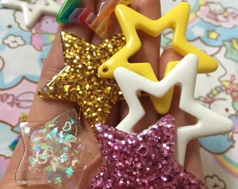 9 pieces stars FREE SHIPPING