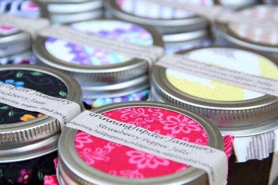 Wedding favors - 4oz jars/ 50 count