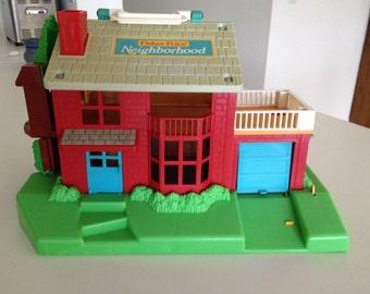Fisher Price Little People Neighborhood House