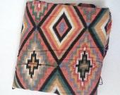 Vintage 1960s Southwest Fabric - Over 2 Yards - Yardage - Bulk