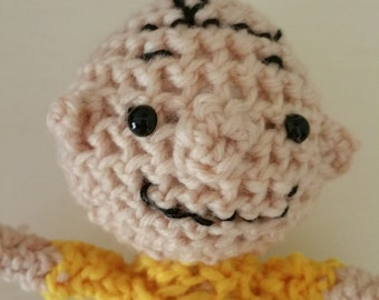 Crocheted Charlie Brown