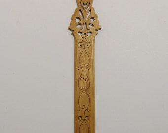 Scrolled Ash Letter Sword