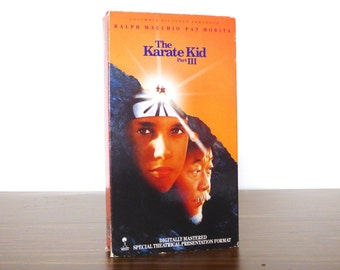 The Karate Kid Part III Ralph Macchio Vhs Movie Tape Cult Video