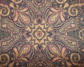 """Traditional Antique Dutch Kashmer Paisley ...Excellent Condition...17"""" by 20"""""""