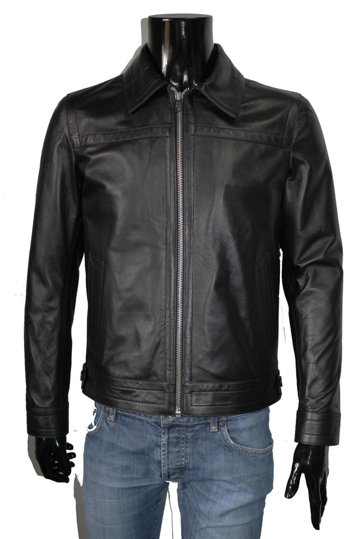 Leather jacket italian