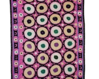 Sale! Handmade Vintage Suzani NL1344