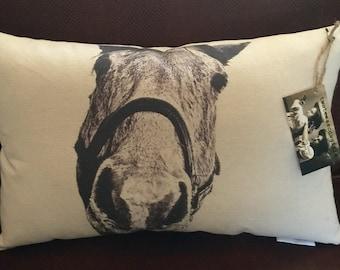 Horse Pillow / Bruce