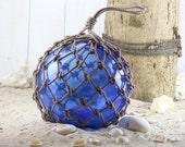 Beach Decor Cobalt Super Big Fishing Float by SEASTYLE