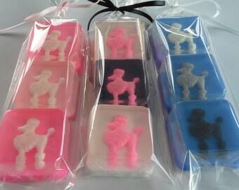 Poodle Soap Set
