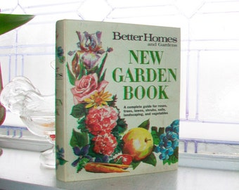 New Garden Book Better Homes and Gardens Vintage 1968