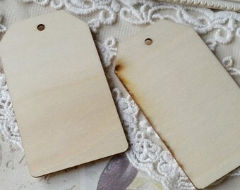 Unfinished Wooden Hut / Blank Unfinished Wooden Ornament / DIY Ornaments/ Wooden Key Pad DIY / Unfinished Wooden Tags (.t)